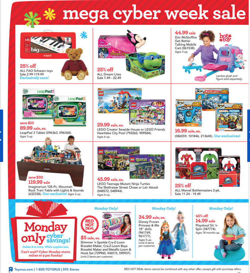 See all Toys R Us Cyber Monday sale info and ads here. Toys R Us Coupons on DealsPlus: Check out all of the available Toys R Us coupons, promo codes, in-store offers and online sales before you shop and save even more yocofarudipumu.cf Shop Now. Get Coupons. Find a Toys R Us.