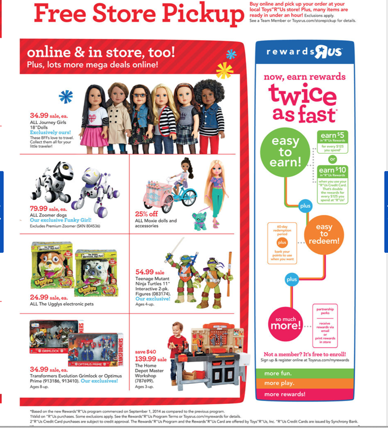 Toys R Us Canada Promo Codes & Holiday Coupons for December, Save with 4 active Toys R Us Canada promo codes, coupons, and free shipping deals. 🔥 Today's Top Deal: Get 15% Off Sitewide. On average, shoppers save $20 using Toys R Us Canada coupons from yocofarudipumu.cf