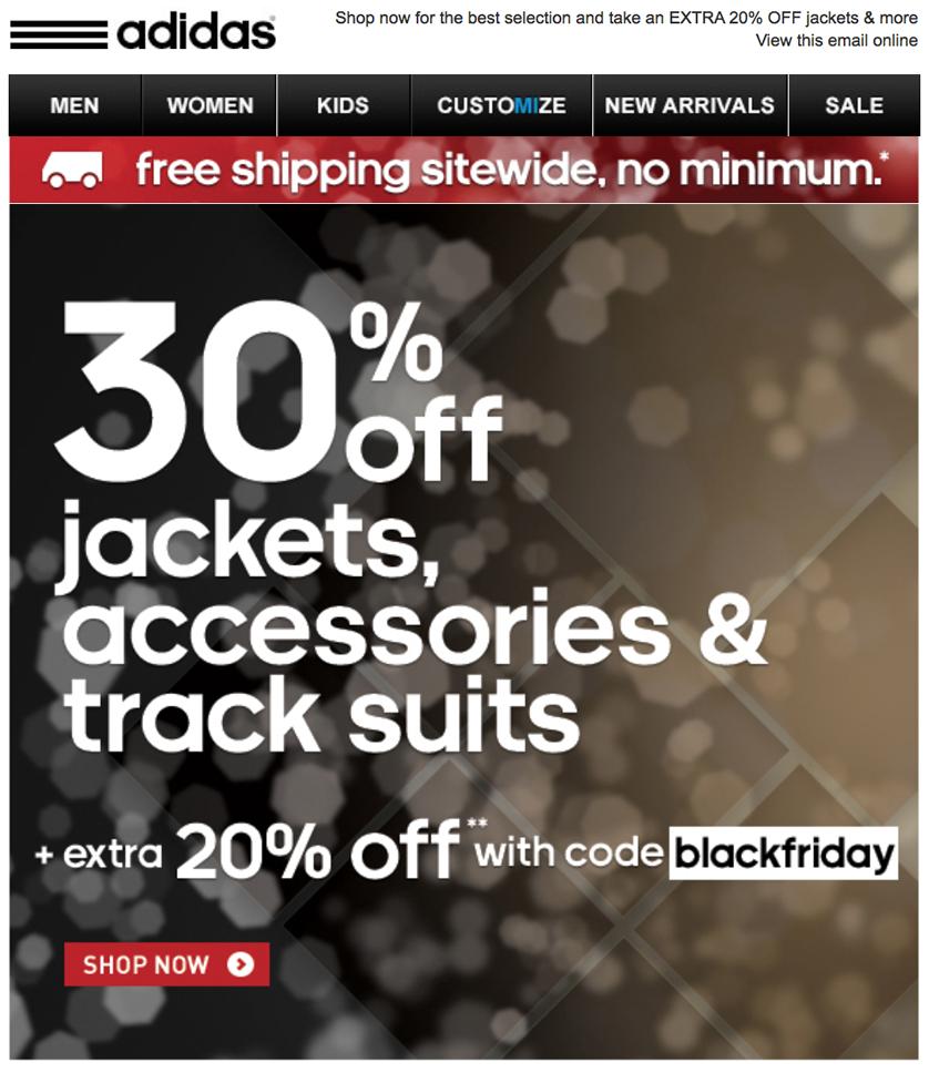 Adidas deals black friday
