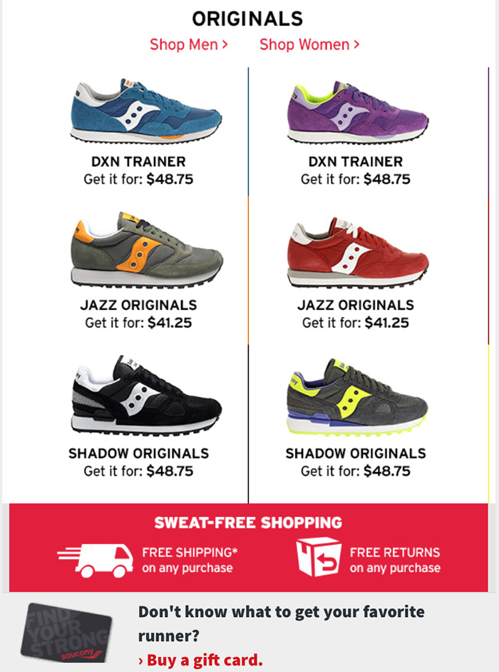 Saucony is known for providing durable, well-constructed shoes for serious runners at great prices, and it offers a ton of ways to save on men's and women's reofeskofu.tk can score deep discounts with Saucony promo codes, such as 40% off footwear and apparel.