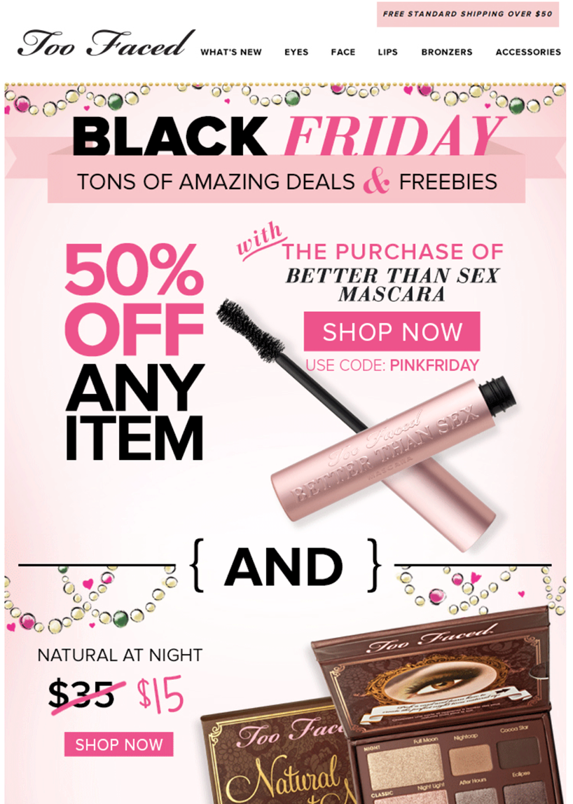 Watch Too Faced's Black Friday Sale Includes A New Product We've Got The ExclusiveDeets video