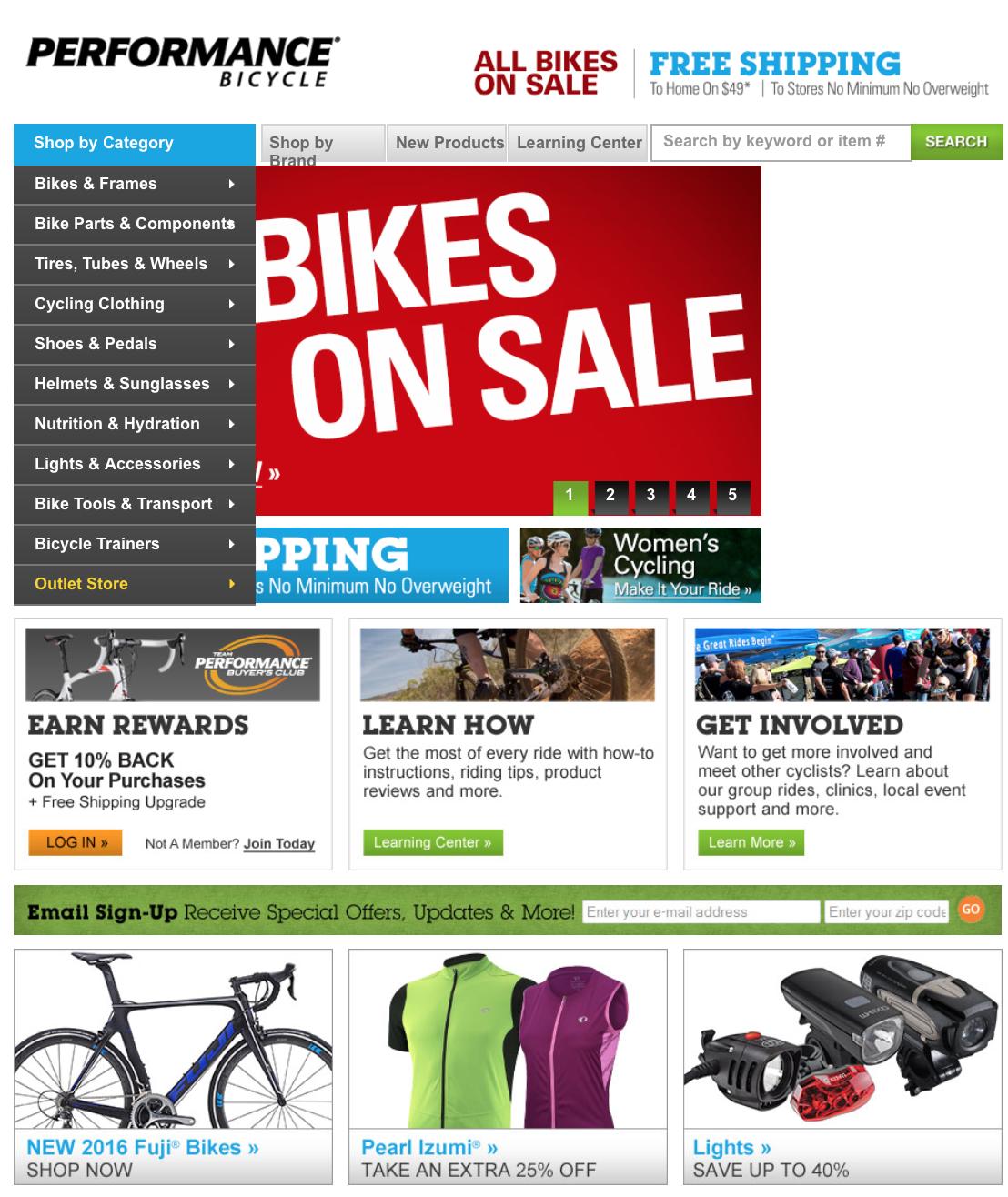 Performance bike coupon code