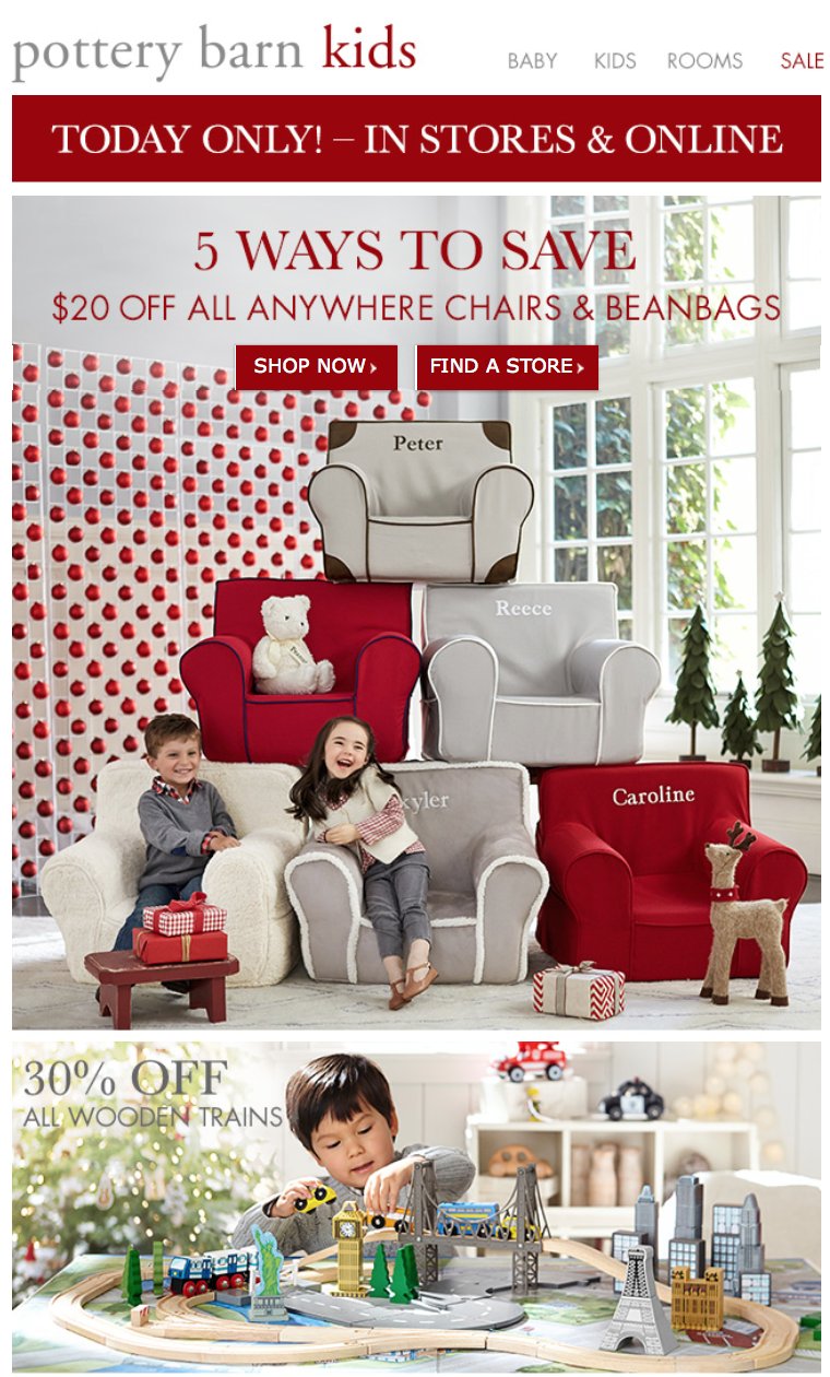 Pottery Barn Kids Black Friday 2015 Sale Deals Amp Coupons