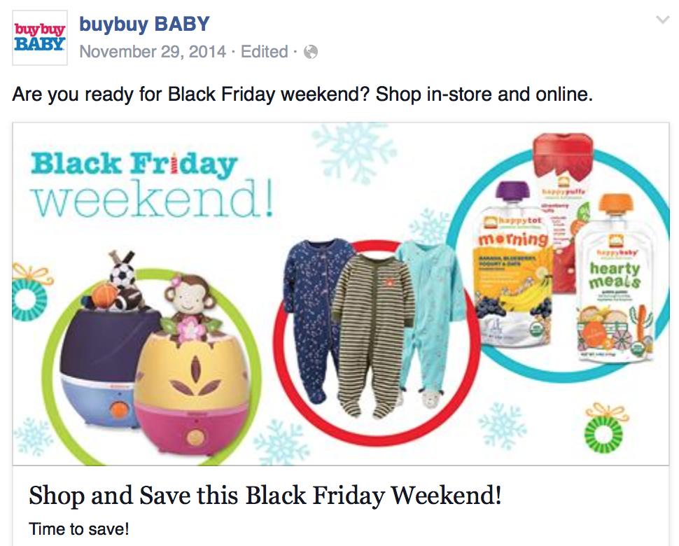 Baby deals black friday
