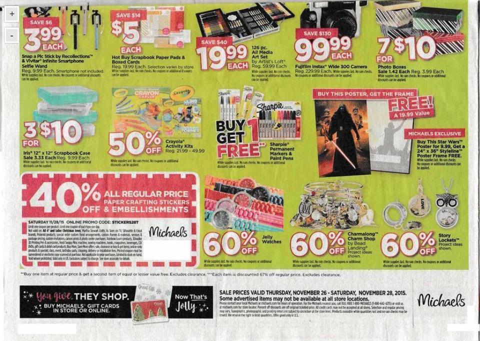 Black friday printable coupons