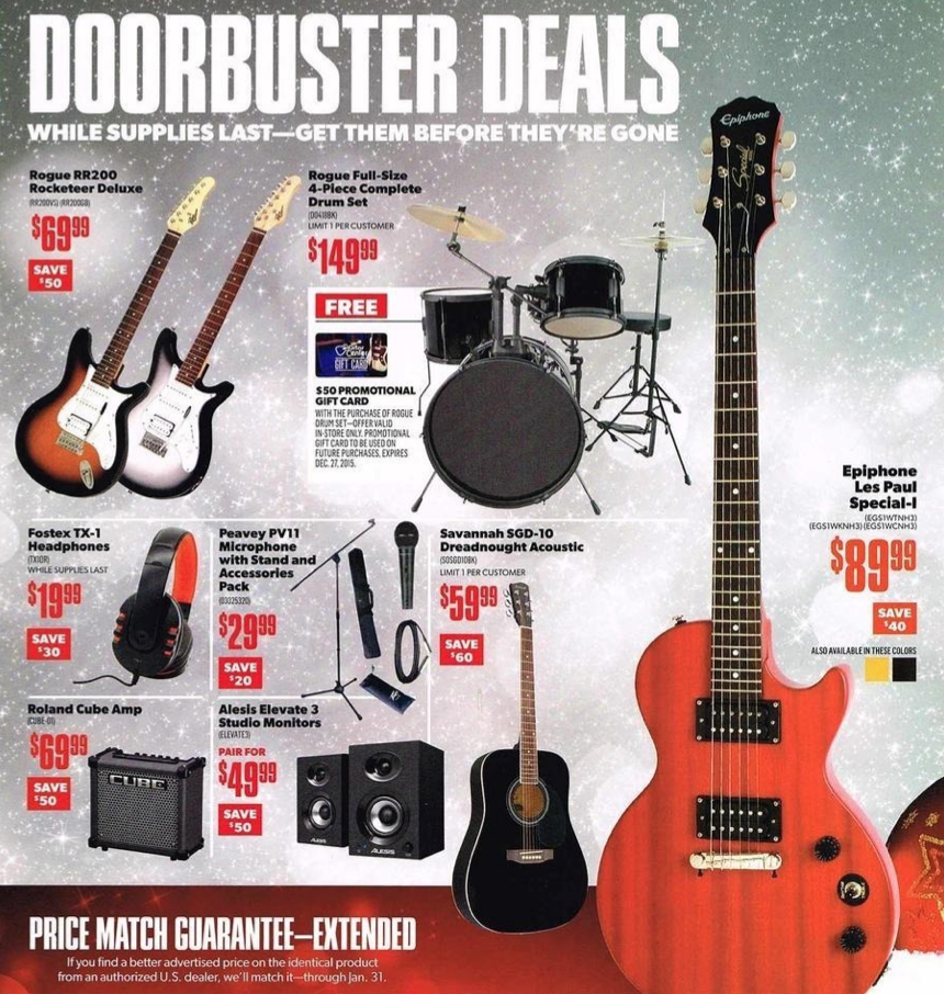 Jam out with Guitar Center's huge selection of musical instruments, accessories, and equipment. Whether you're a beginner, amateur, or professional, Guitar Center has the equipment and expertise you need. Save with Guitar Center coupons and find incredible deals on new and used instruments of .