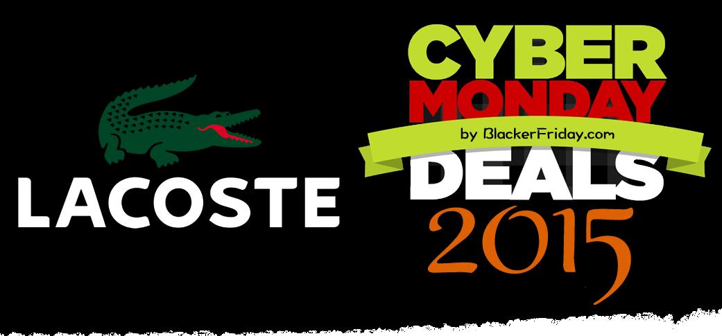 Lacoste cyber monday 2015 sale amp outlet deals black friday 2015