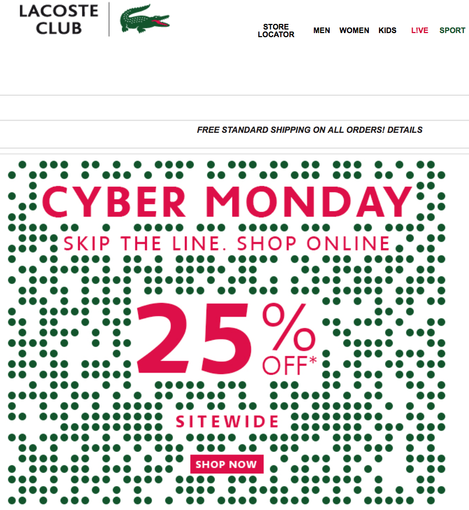 Wp elegante home page for Ikea cyber monday 2016