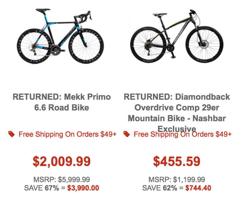 Bike Nashbar Coupons & Promo Codes. SALES & OFFERS Offer Verified! 2 Used Today. Get a $25 off discount on your purchase of $99 or more when you apply this limited time Bike Nashbar coupon code at checkout. Item exclusions apply while supplies last. Expired 10/24/ • Black Friday .