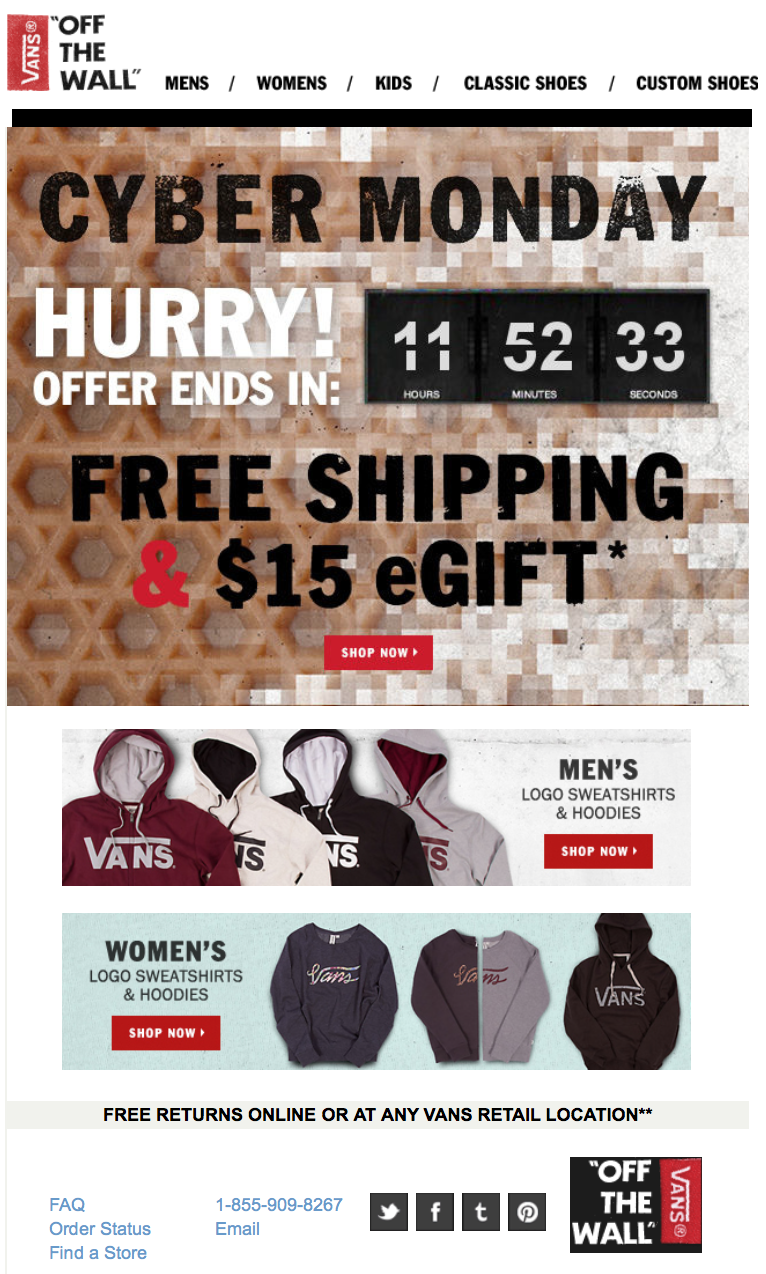 vans black friday sale