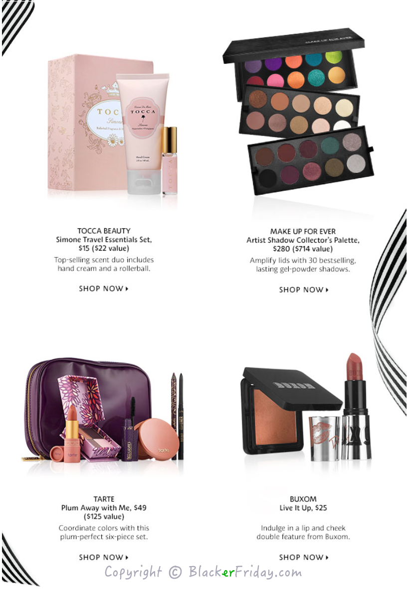 Sephora Christmas Sets