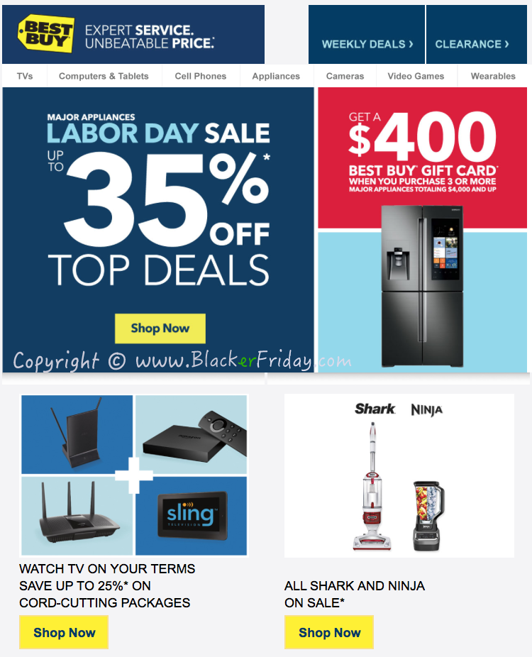 Labor Day Appliance Sale @ regfree.ml