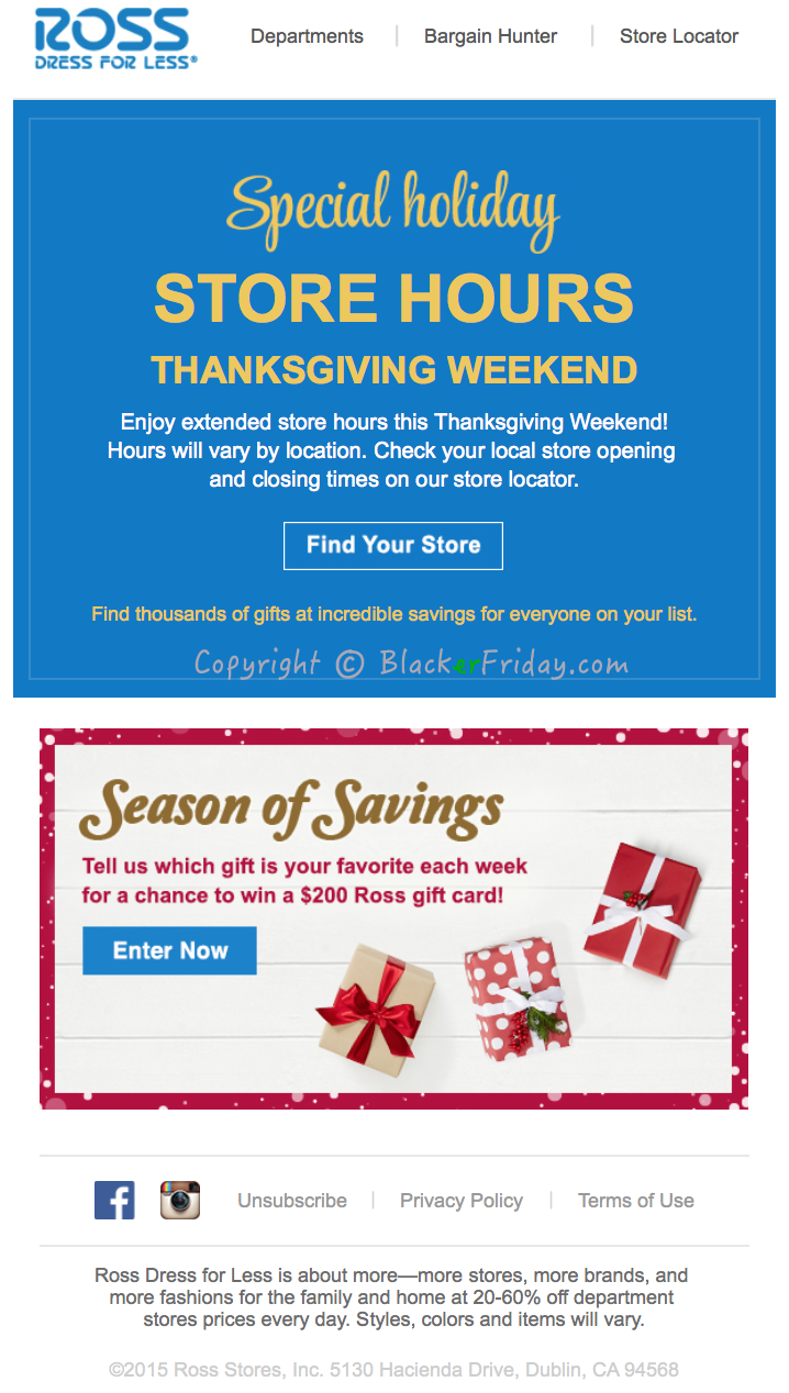 Ross Stores hours | Locations | holiday hours | Ross Stores near me
