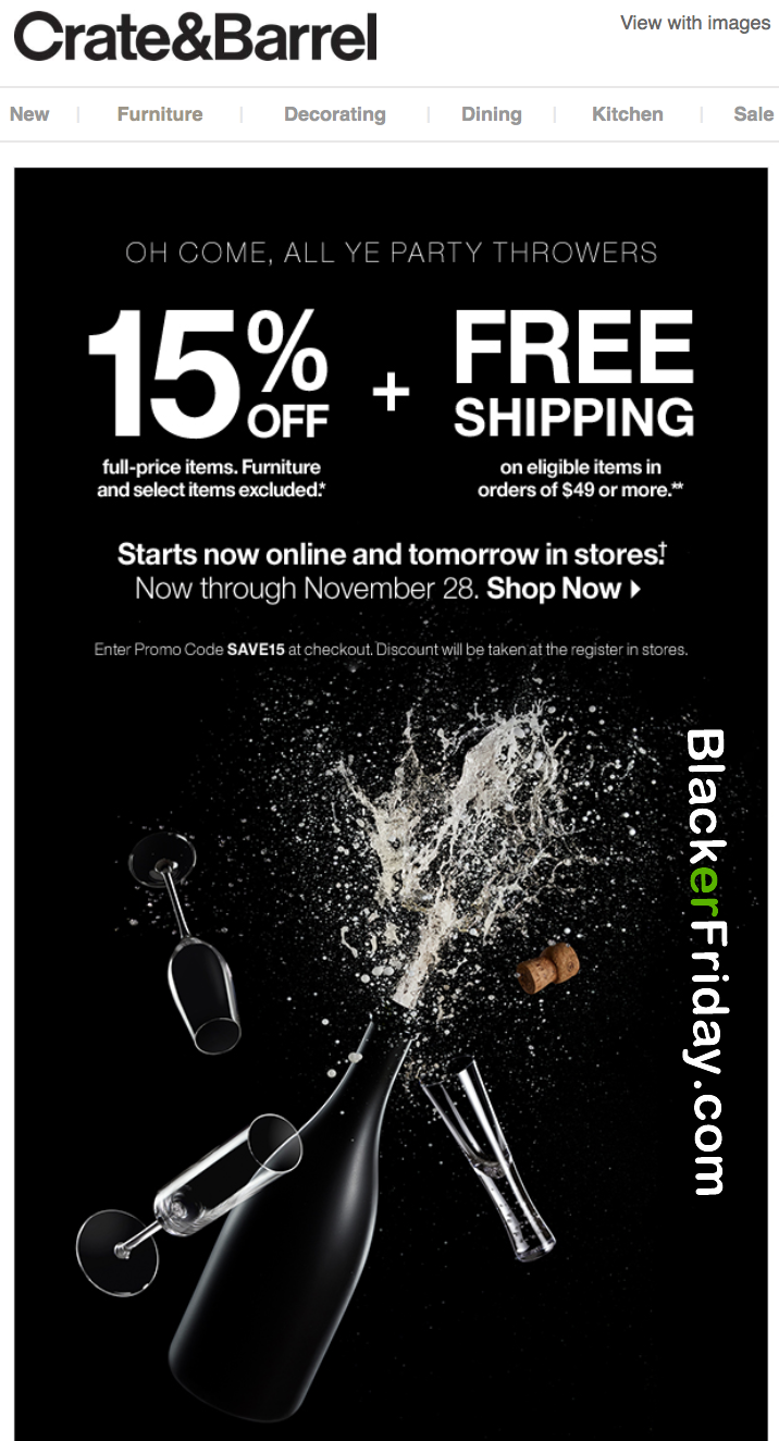 Elegant Crate U Barrel Black Friday Sale U Furniture Deals Blacker With Furniture  Stores Similar To Crate And Barrel.