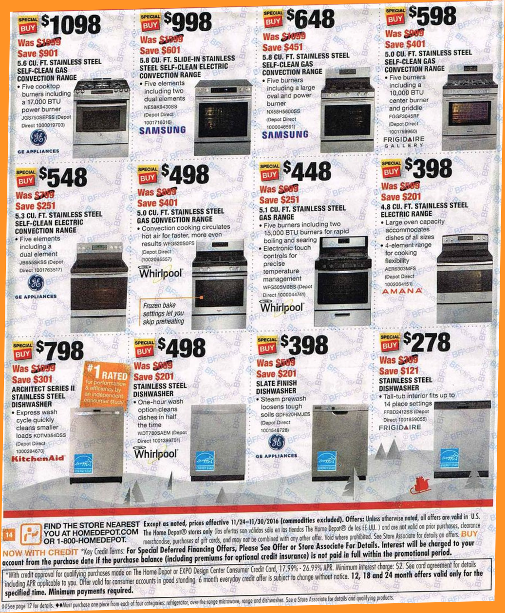 Home Depot S Black Friday 2016 Sale Ad Scan Deals Page 5