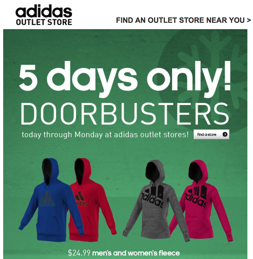 the latest d5612 f9778 Here s a look at Adidas  full Black Friday ads scans for both online and  outlets stores for this year  Page ...