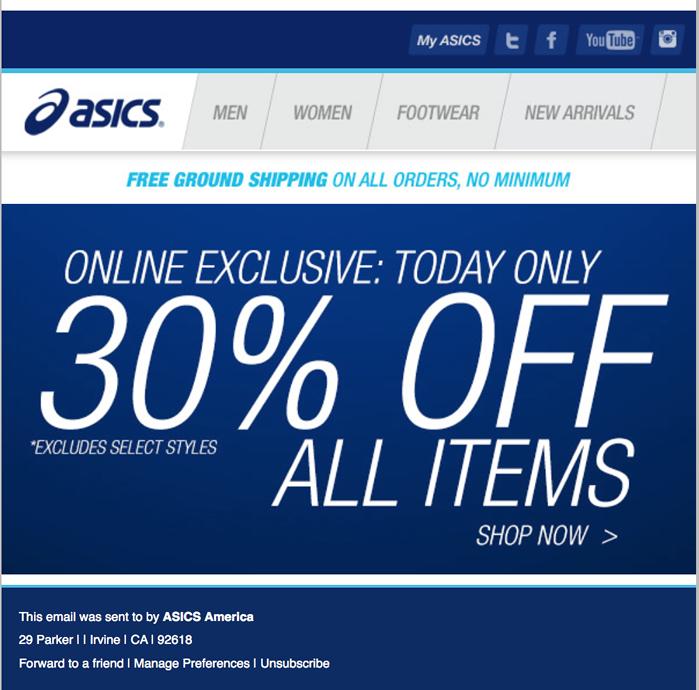 Asics Black Friday 2019 Ad Sales Amp Deals Blacker Friday