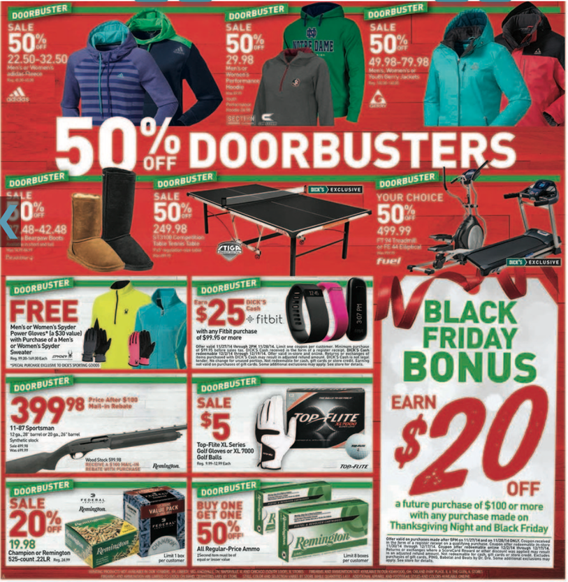 Dick's Sporting Goods Black Friday 2019 Ad & Sale