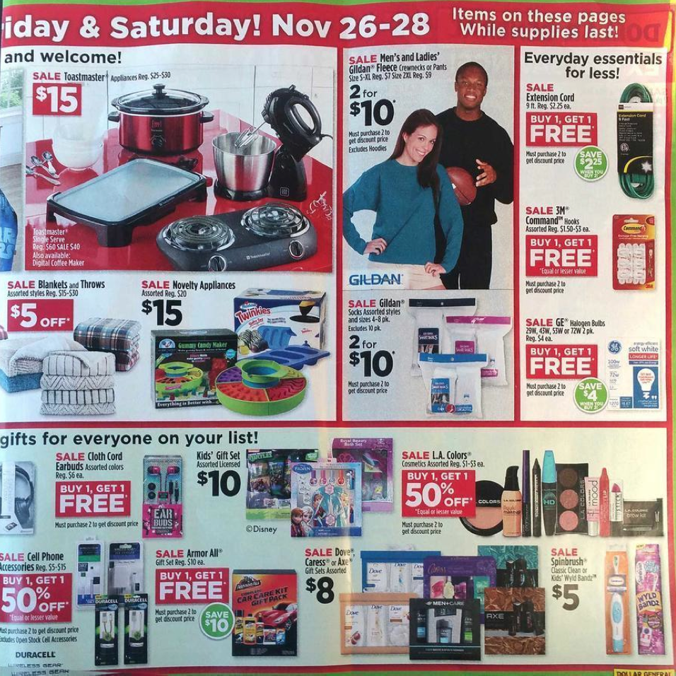 Dollar General Black Friday 2018 Deals & Store Hours