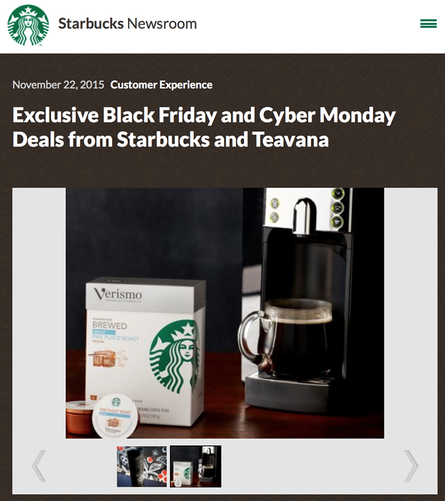 Nov 26, · On Black Friday this year, Starbucks is offering a special deal on a Stainless Steel Espresso Refill Tumbler, which you can use to get one espresso drink a .