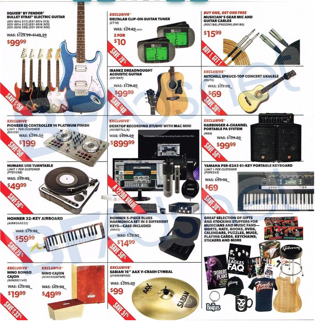 Nov 12, · Does Guitar Center Do Black Friday? Yes, the Guitar Center Black Friday Deals will start on Fri Nov 23 with many items available in the discounted Black Friday sale. Does Guitar Center Do Cyber Monday? Yes, the Guitar Center Cyber Monday Deals will start on Mon Nov 26 with many items available in the discounted Cyber Monday sale.