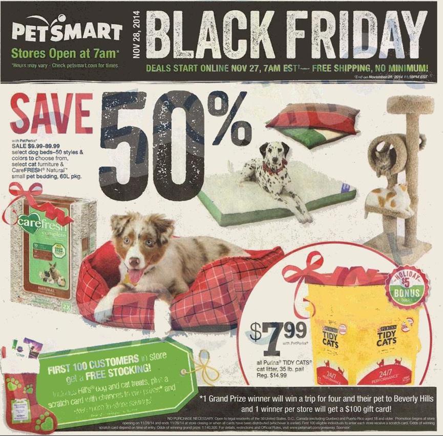 Petsmart Christmas Eve Hours.Petsmart S Black Friday 2019 Ad Sale Details Blackerfriday Com