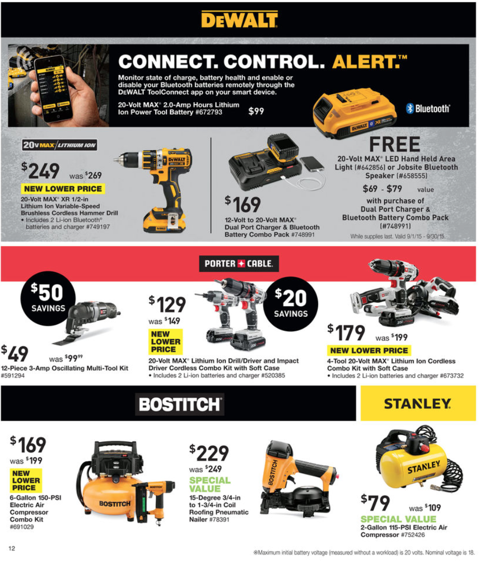 Lowe's Labor Day Sale For 2019