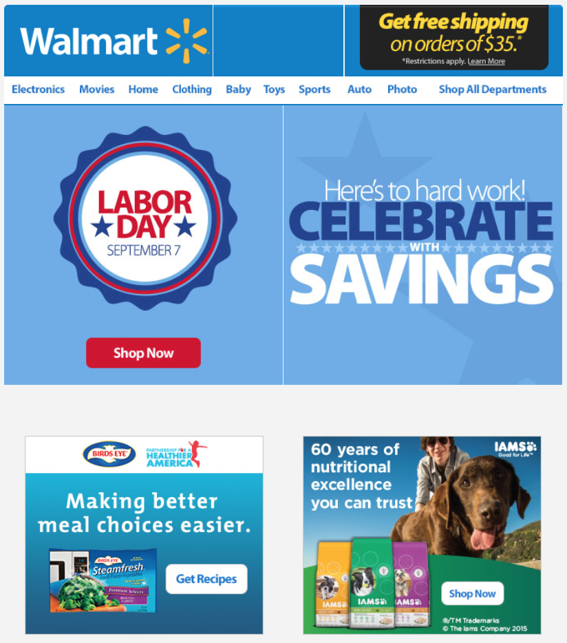 Kmart Sales This Weekend: Walmart's Labor Day Sale 2017