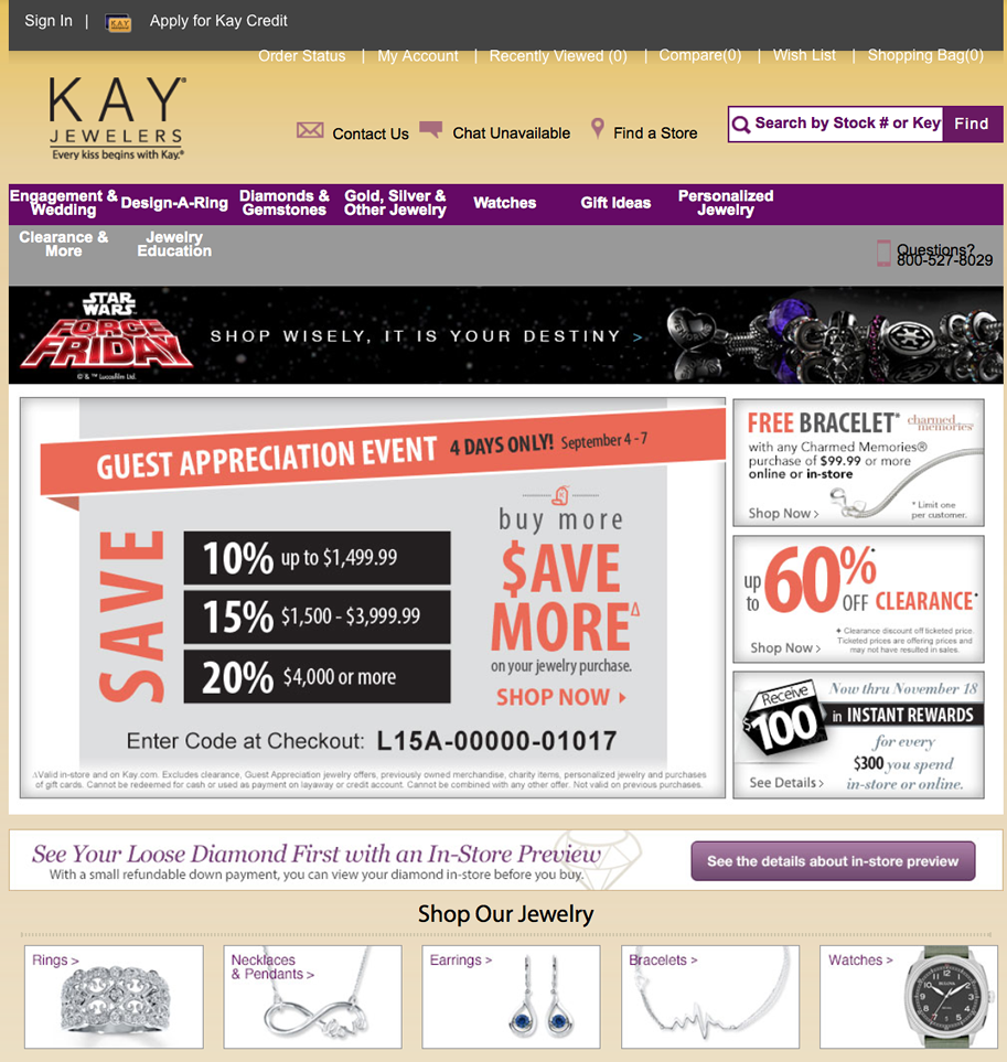 Kay Jewelers Labor Day Sale 2020 What To Expect Blacker Friday