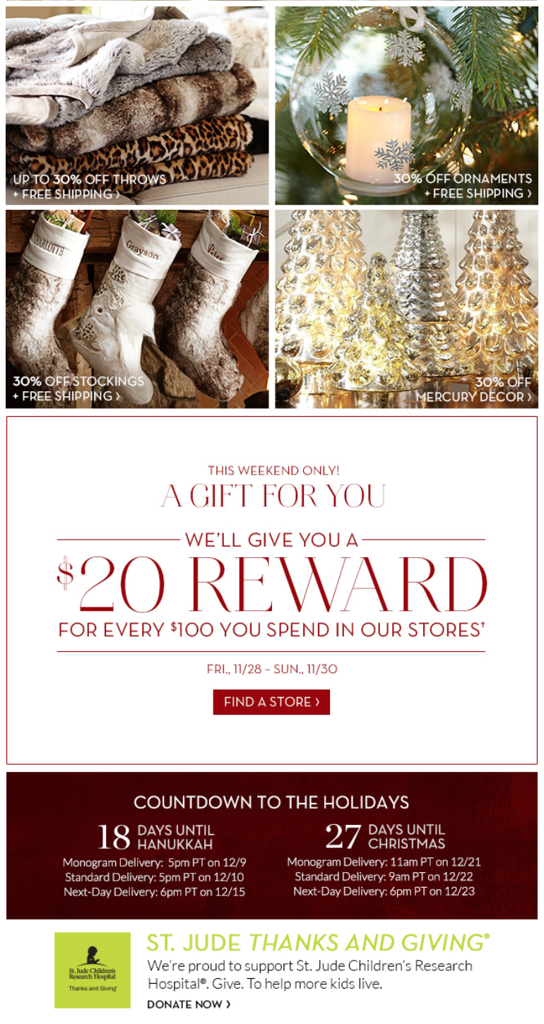 Christmas Stockings Pottery Barn