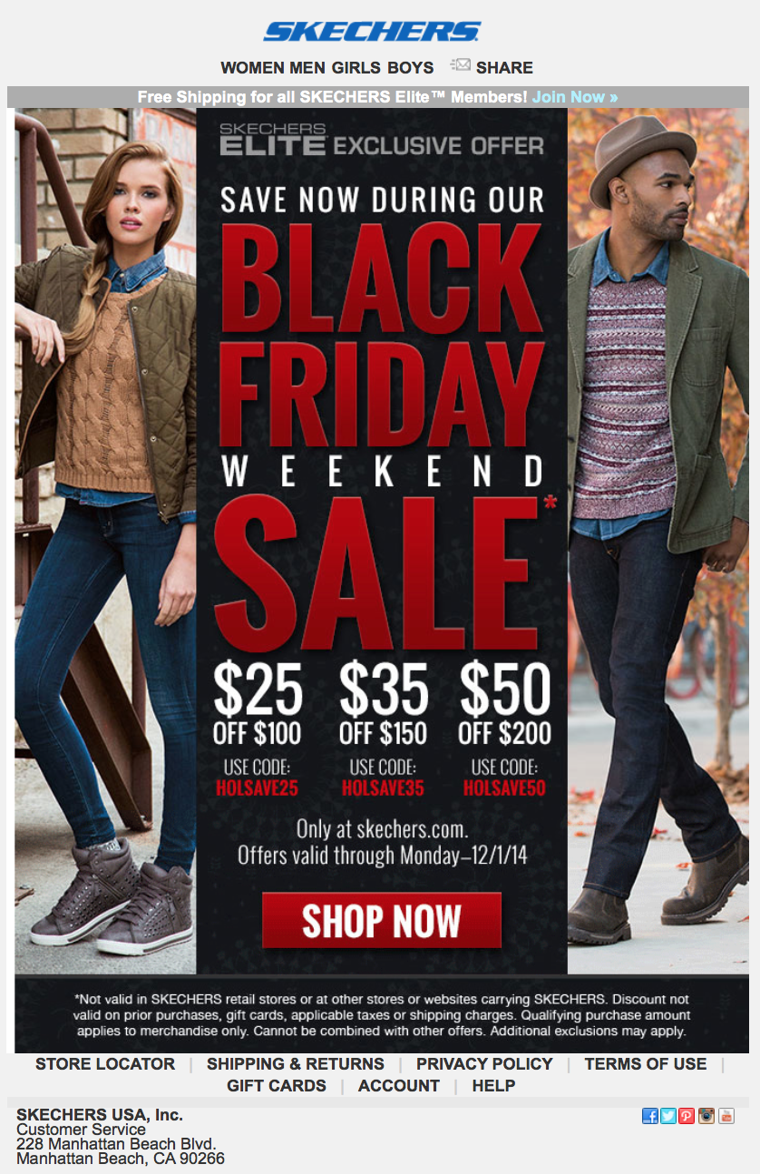 mejor lugar para moda atractiva mejor selección Skechers Black Friday 2020 Sale - What to Expect - Blacker Friday