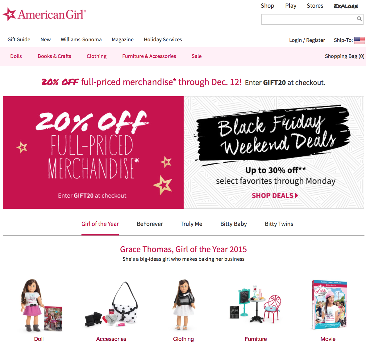 Does American Girl Have Black Friday Sales
