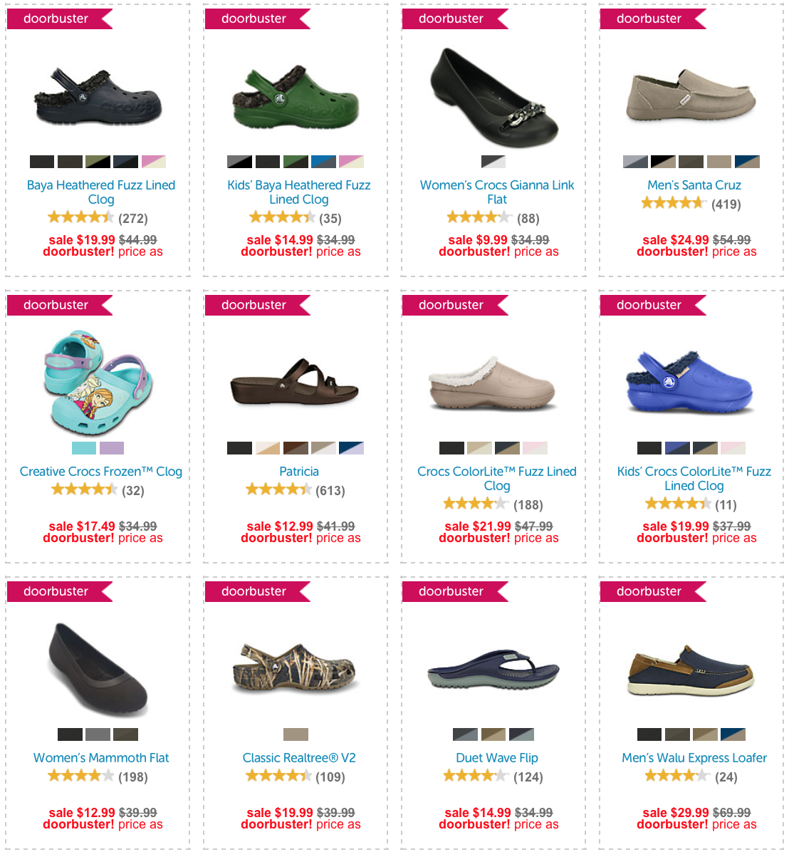 Crocs Black Friday 2020 Sale - What to