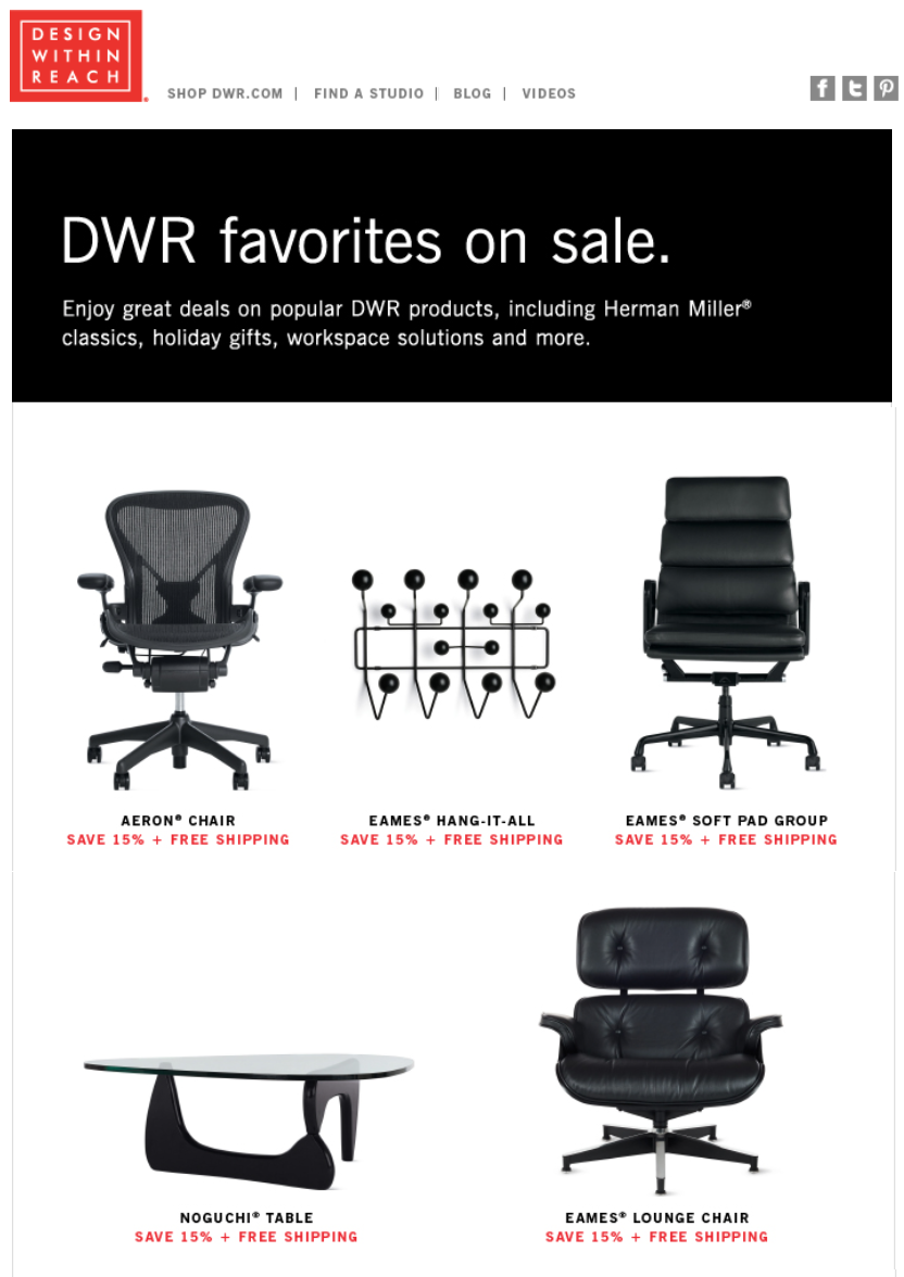Wondrous Design Within Reach Black Friday 2019 Ad Sale Blacker Friday Short Links Chair Design For Home Short Linksinfo