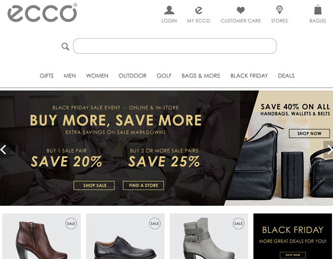 ECCO Black Friday 2020 Sale - What to