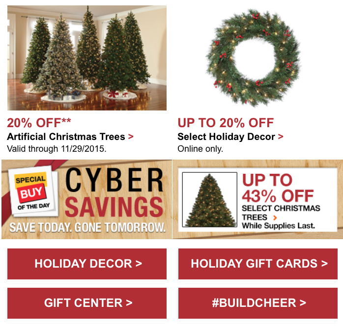 click on the page links to see this years ad scan page 1 2 3 - Is Home Depot Open On Christmas Day