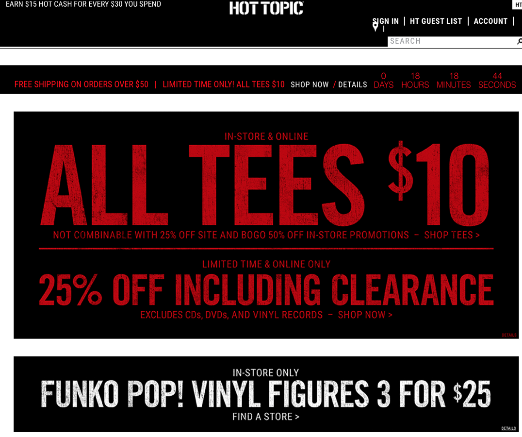 Nov 24, · Re: Hot Topic Black Friday Mystery Pop Flyer Post by poppetmaster» Tue Nov 24, am Tdogg2k8 wrote: I'm sure this has been mentioned, but if you're a hot topic guest list member you get in 30 mins earlier.