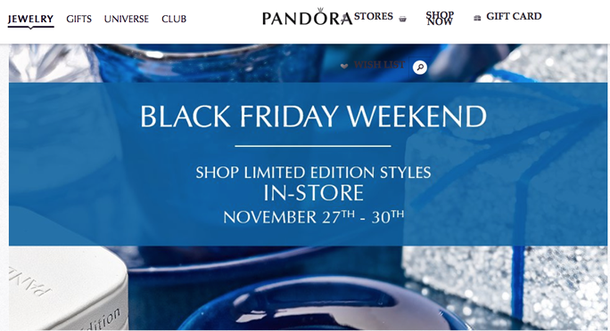 pandora black friday 2019 in store
