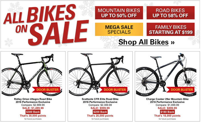 Performance Bike Black Friday 2020 Sale What To Expect Blacker Friday