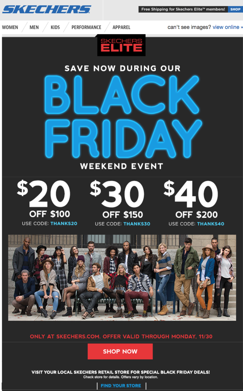 Skechers Black Friday 2020 Sale - What
