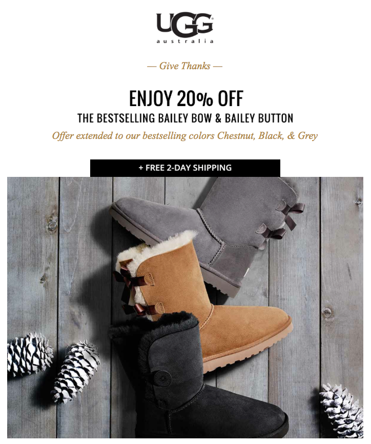 ugg boots on sale for black friday