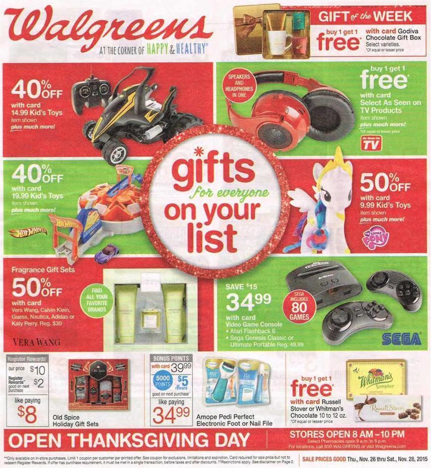 Walgreens Black Friday 2018 Sale & Ad - BlackerFriday.com