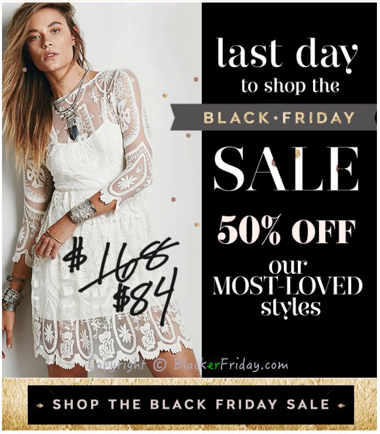 Cyber Monday Walmart 2017 >> Free People Cyber Monday 2017 Sale & Deals - Blacker Friday