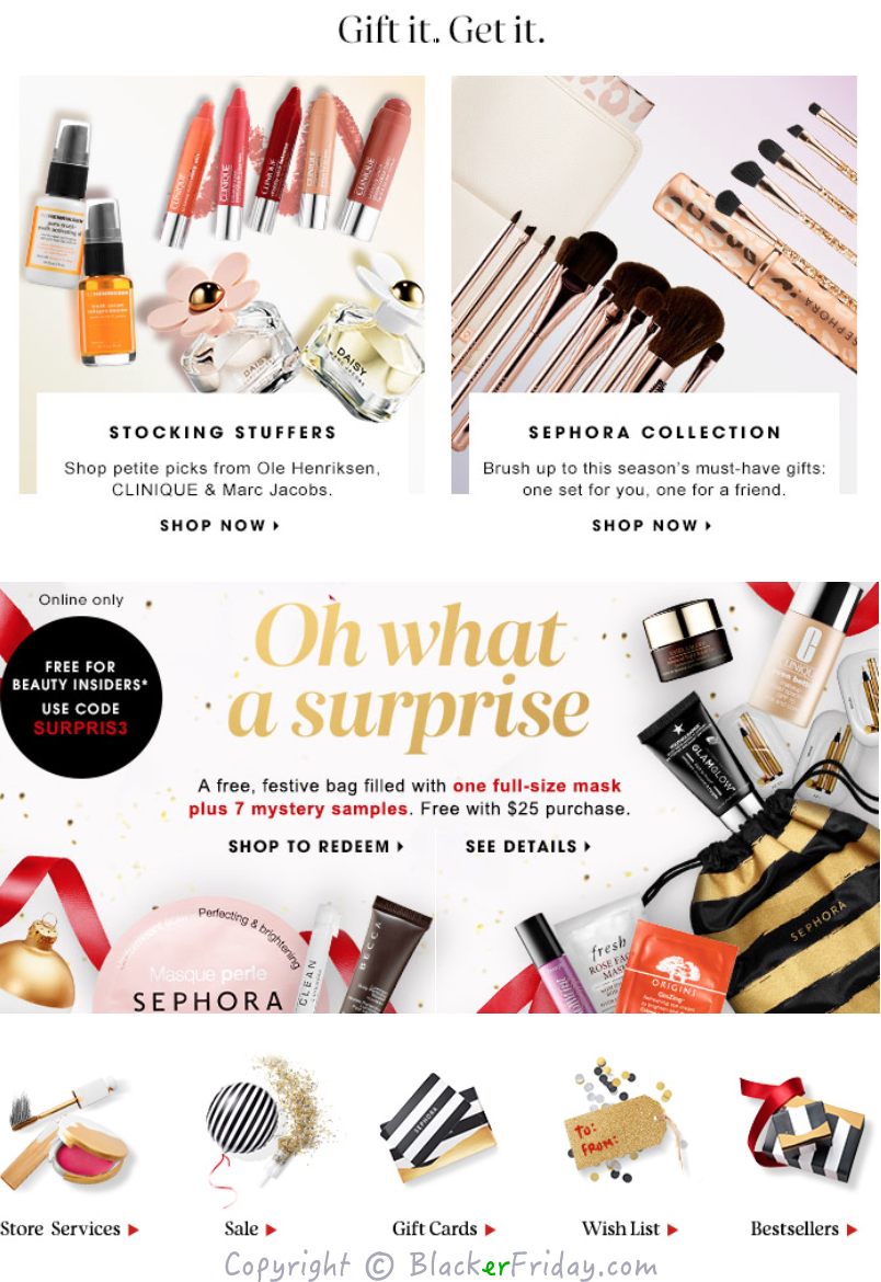 Nov 25,  · Sephora's Black Friday deals are finally here, and we have all the details you need to know to shop the sale. Sephora Black Friday and Cyber Monday deals — Yahoo Home.