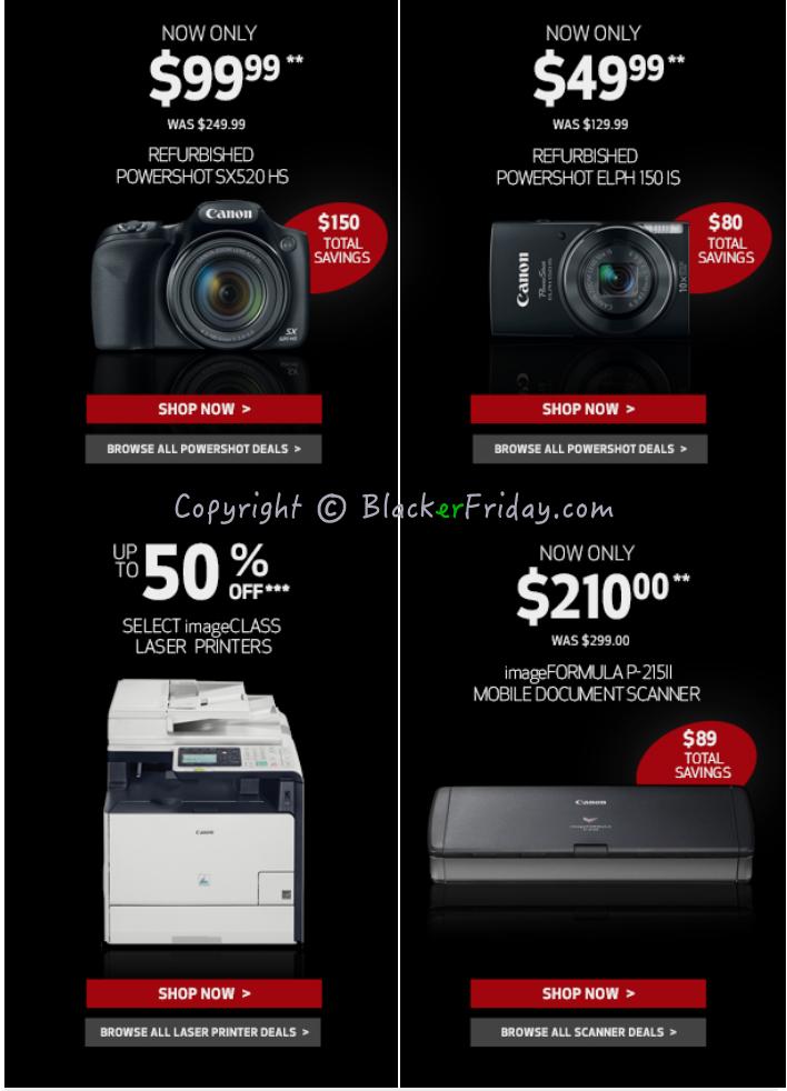 Black Friday Target 2017 Ads >> Canon Black Friday 2018 Sale & DSLR Deals - Blacker Friday