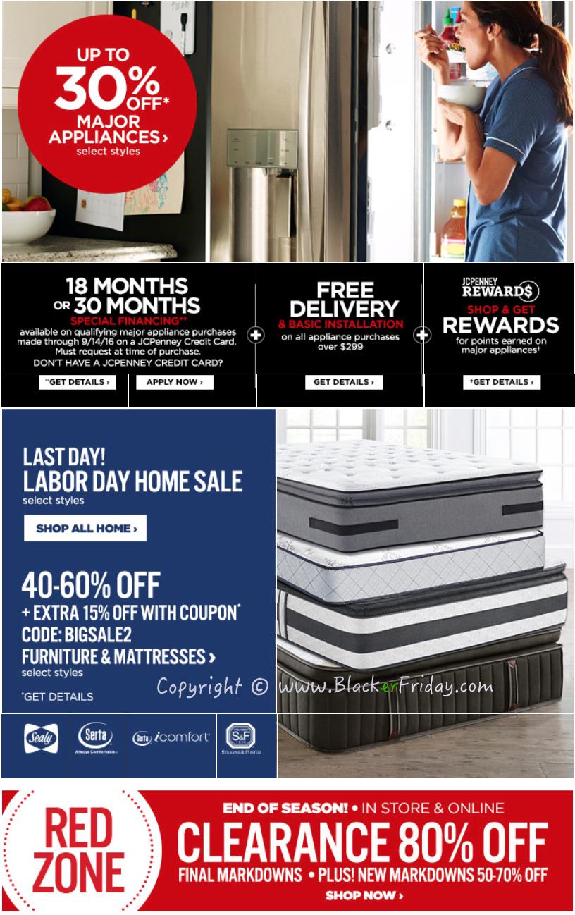 Jcpenney Mattress Sale Labor Day