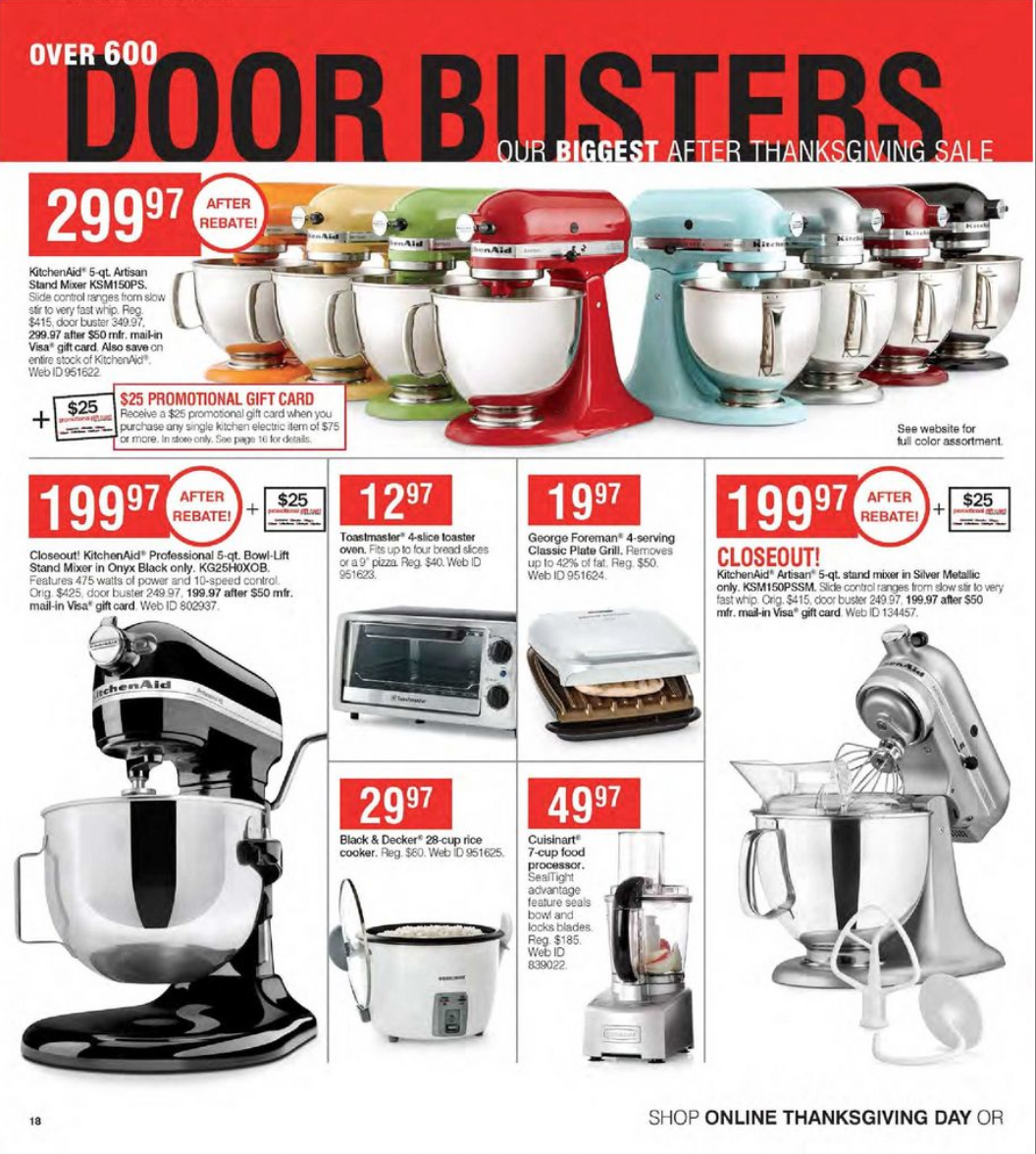 kitchenaid mixer black friday 2018 sale deals blacker friday. Black Bedroom Furniture Sets. Home Design Ideas