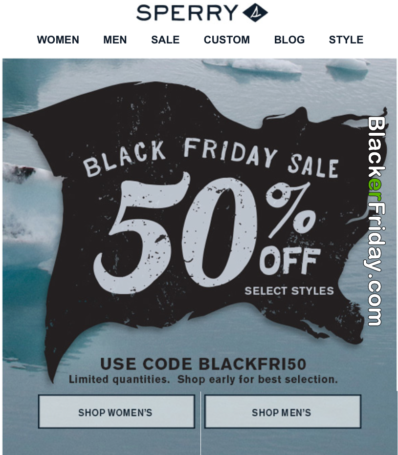 Sperry Black Friday 2021 Sale - What to
