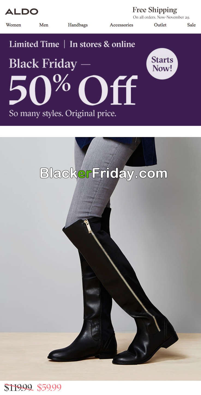 Aldo Shoes Black Friday Sale