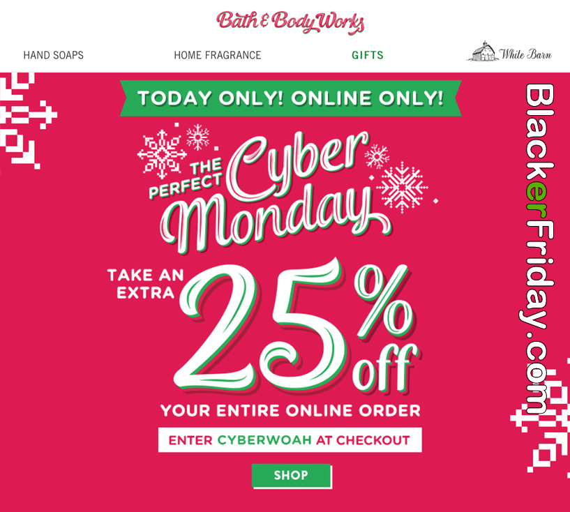 Bath Body Works Cyber Monday 2020 Sale What To Expect Blacker Friday